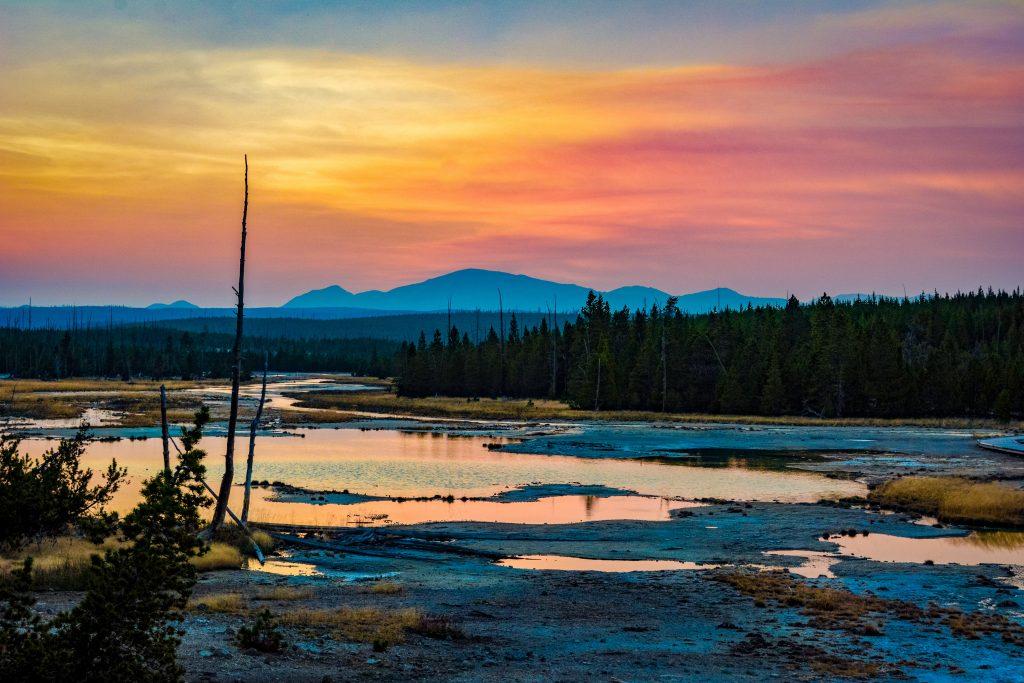Sunset over water PC: Anukrati Omar